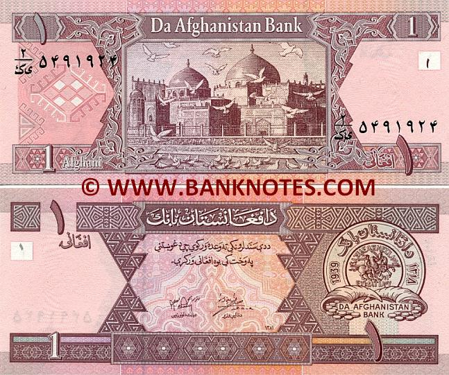 Afghani Currency Gallery