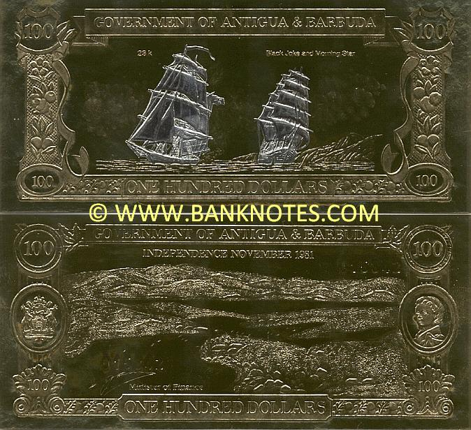 Antigua and Barbuda Currency Gallery