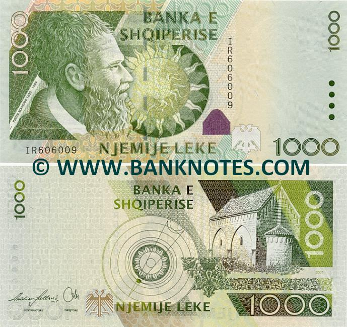 Albanian Currency Gallery