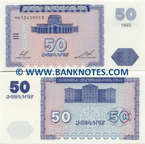 Armenian Currency Banknote Gallery