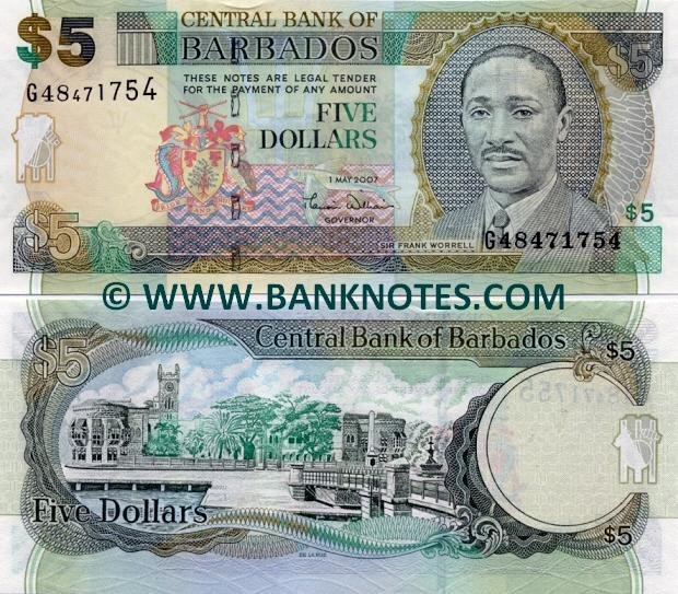 Currency Bank Note Gallery of Barbados