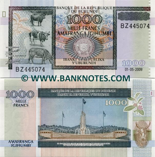 Burundi Currency Gallery