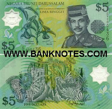 Brunei Currency Gallery