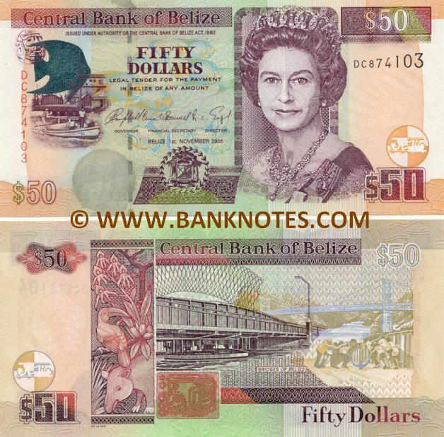 Belizean Currency Gallery