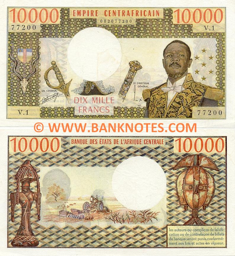 Central African Republic Currency Gallery