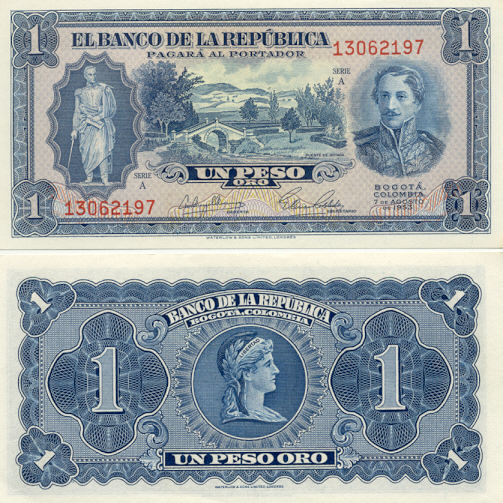 Colombian Currency Gallery