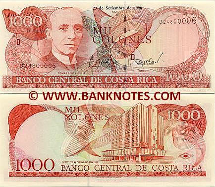 Costa Rica Currency Gallery