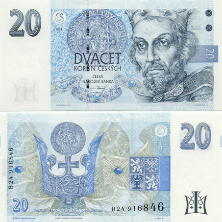 Gallery of Czech Banknotes