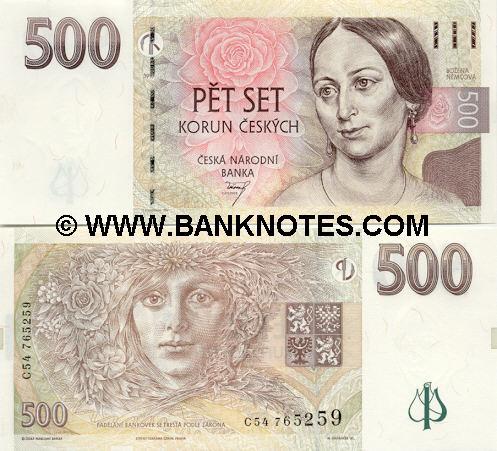 Czech Bank Note Gallery