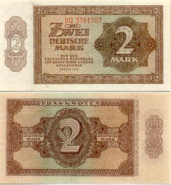 deutsche mark rate