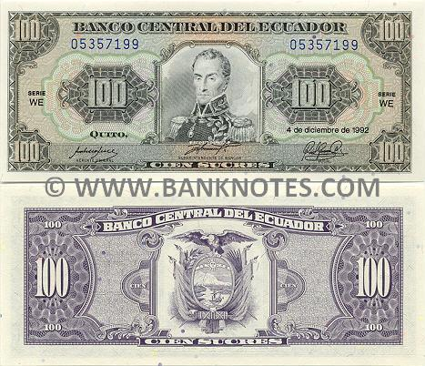 Ecuadorian Currency Gallery