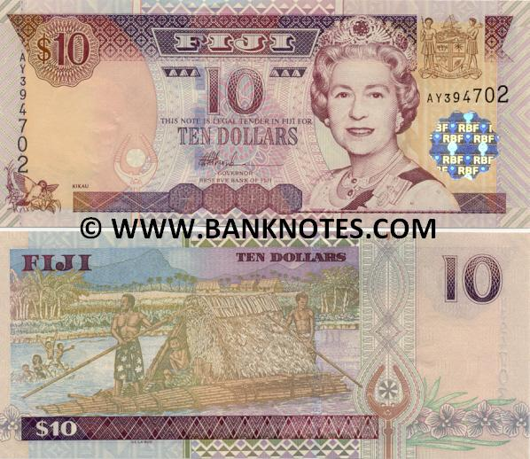 Fijian Currency & Bank Note Gallery
