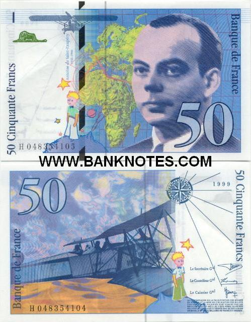 French Currency Bank Note Gallery of Billets