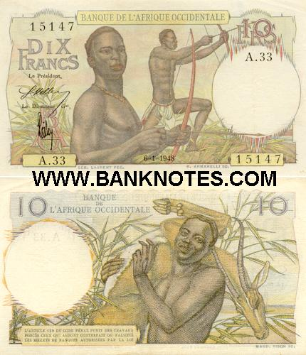 French West Africa French West Africa Currency