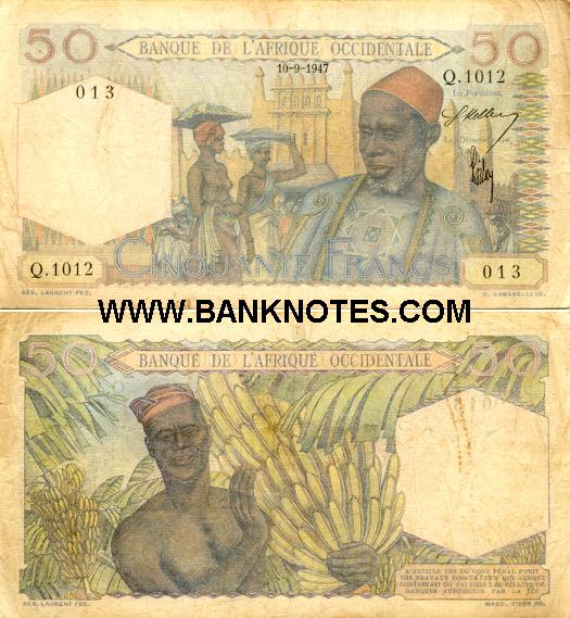 French West Africa French West African Currency