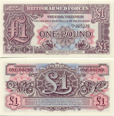 British Armed Forces Currency Bank