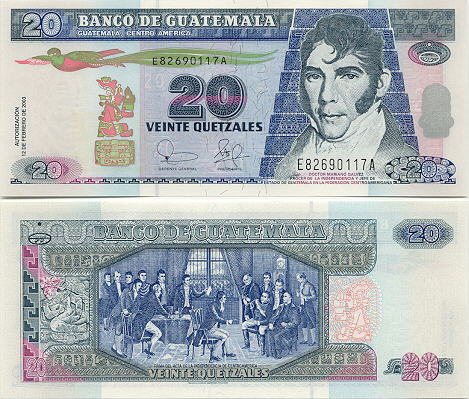 Guatemala Currency Gallery