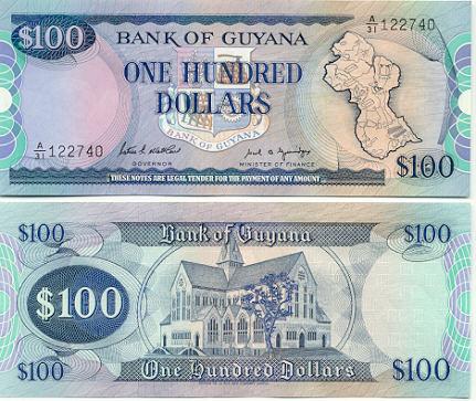 (map of Guyana) Sig.7 9.00