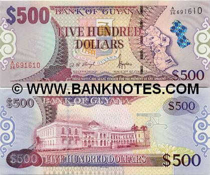 Images And Places Pictures And Info Guyana Money Currency