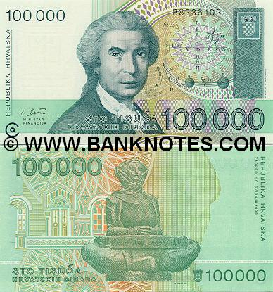 Croatian Bank Note Album