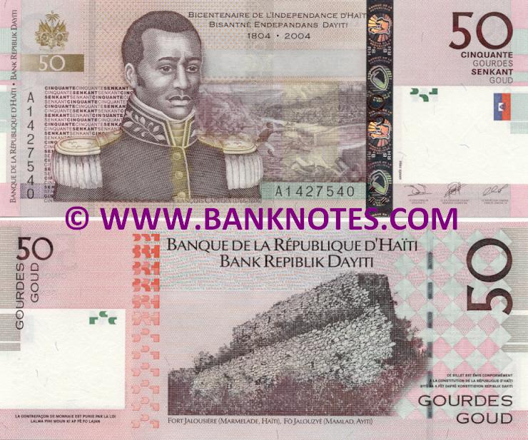 Haiti Currency Gallery