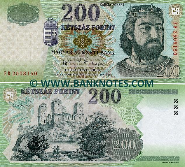 Gallery of Hungarian Currency