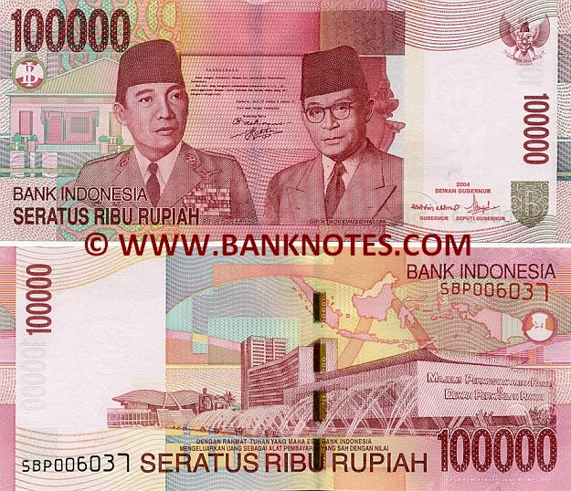 Indonesian Currency Bank Note Gallery