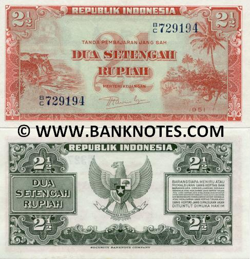 Indonesian Currency Banknotes Gallery