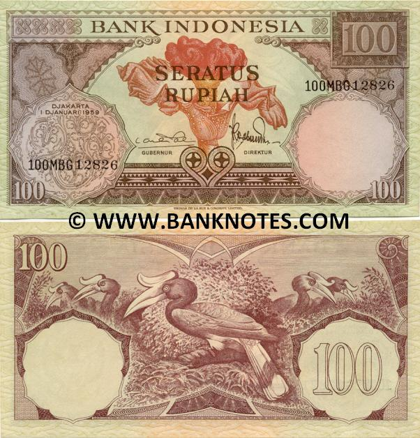 Indonesian Currency Banknote Gallery