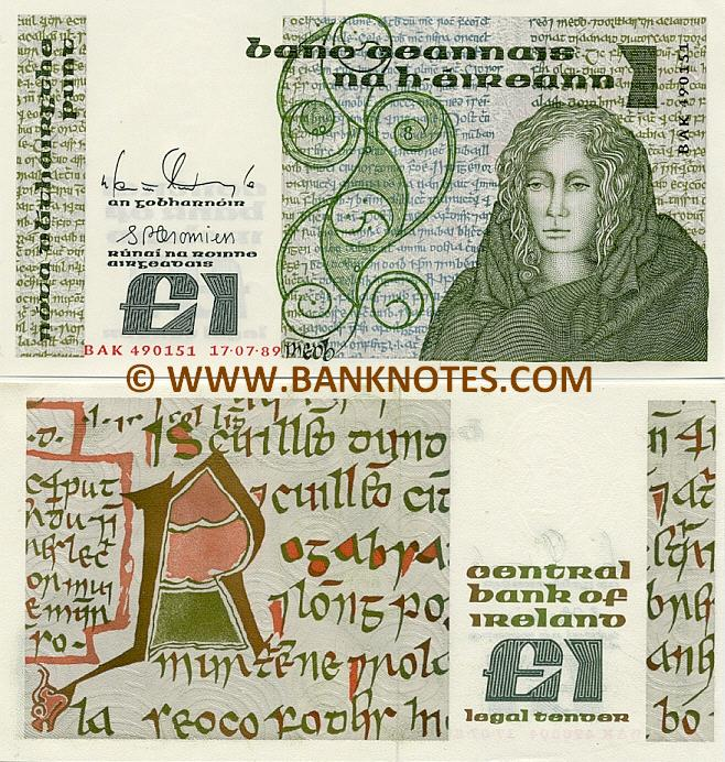 Irish Currency Bank Note Gallery