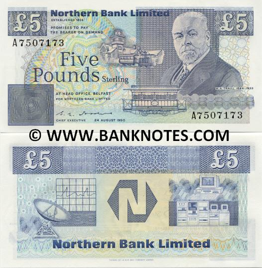 Irish Bank Note Currency Gallery