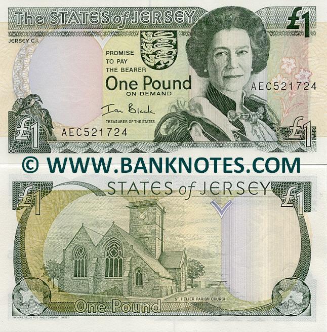 Channel Islands  Pound Note