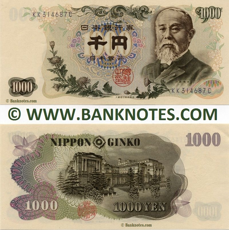 Japanese Currency Gallery