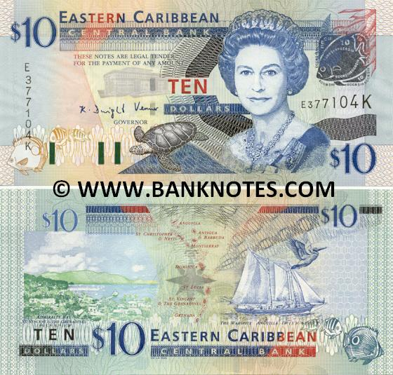 Saint Kitts Nevis Currency Gallery