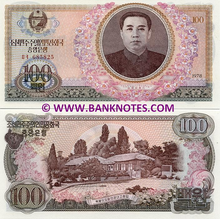 North Korean Currency Banknote Gallery