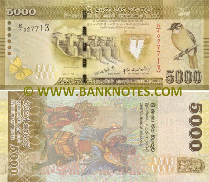 Sri Lanka Currency Gallery