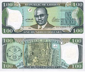 Image result for The Liberian Dollar banknote
