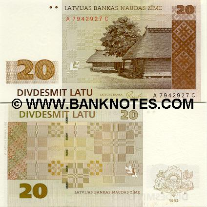 Latvian Currency Gallery