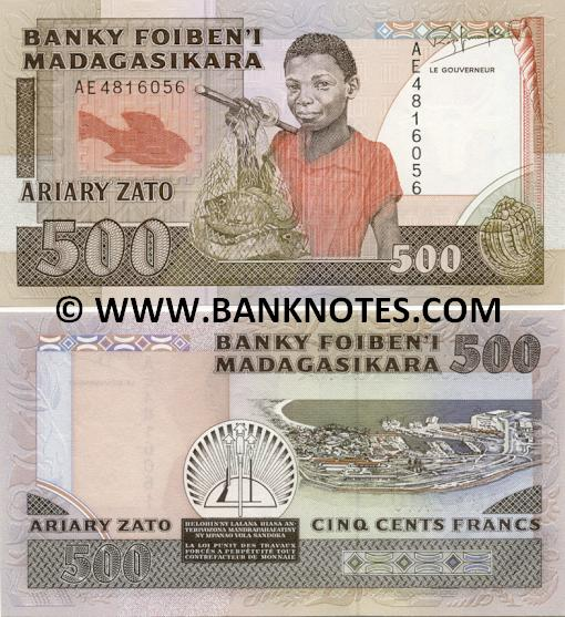 Malagasy Currency Gallery
