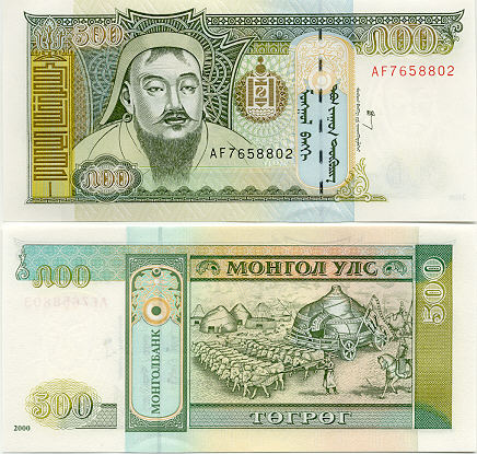 Mongol Currency Gallery