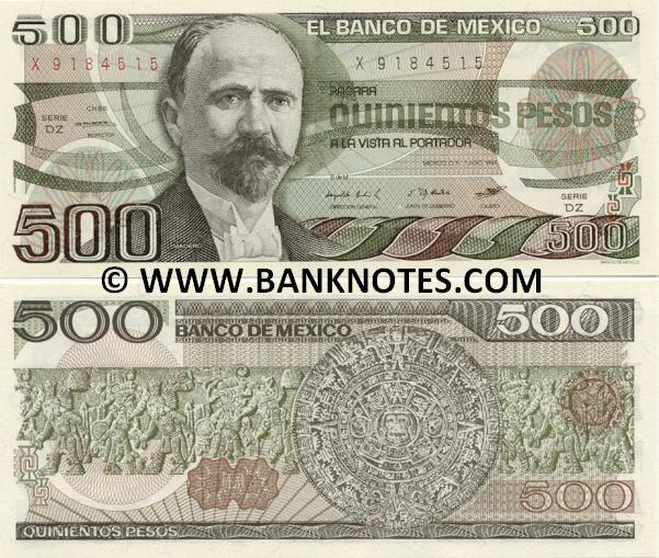Mexican Currency Pictures 27