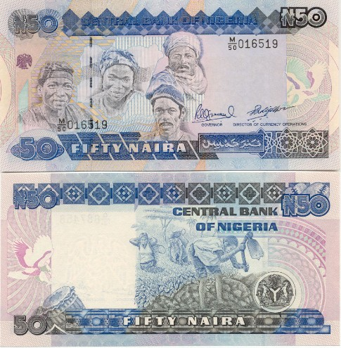 Nigeria Nigerian Naira Currency Gallery Banknotes