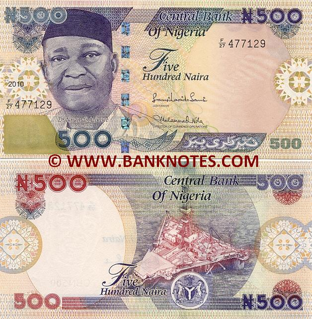 Gallery of Nigerian Bank Notes