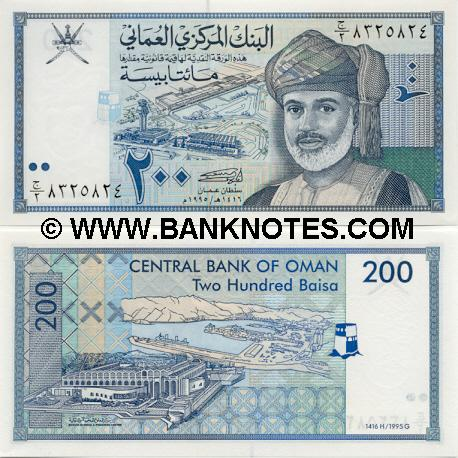 Omani Currency Gallery