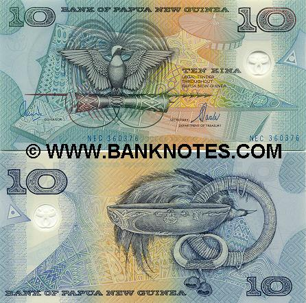 Papuan Currency Gallery
