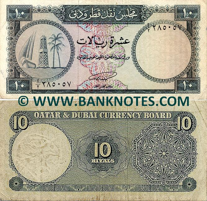 Qatar & Dubai Currency Gallery