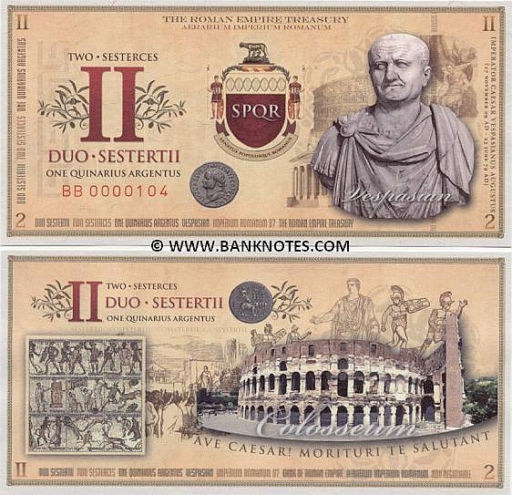 Roman Empire Currency Gallery