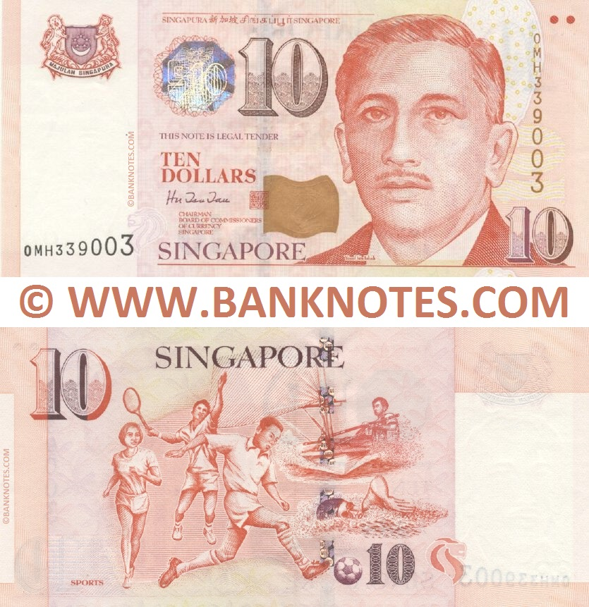 Picture Singapore Money on Singapore   Singaporean Dollar Currency Bank Note Image Gallery