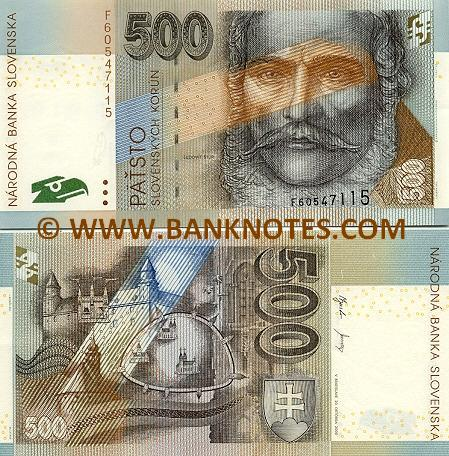 Slovakian Currency Gallery