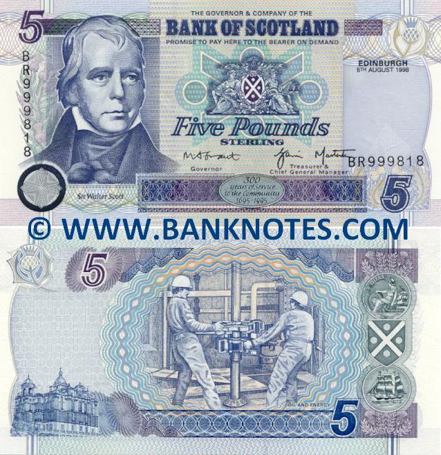 "Резултат с изображение за ""scottish banknote with thistle"""